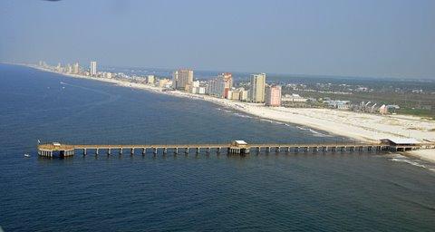 Sugar beach condo assoc for Pier fishing gulf shores al